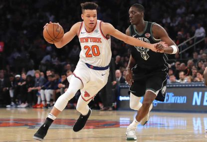 One to watch: Kevin 'Knox' the haters