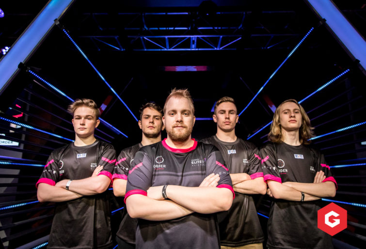 Members of Melbourne Order's CS:GO Gfinity Elite Series team.