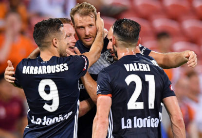 Ola Toivonen becomes first import player to be named Melbourne Victory captain