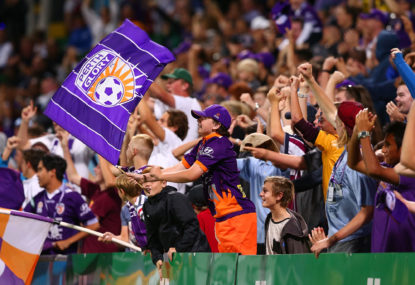Perth Glory vs Brisbane Roar: A-League live scores