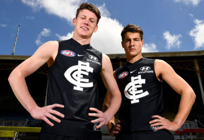 Carlton has a good chance of winning the Stocker trade
