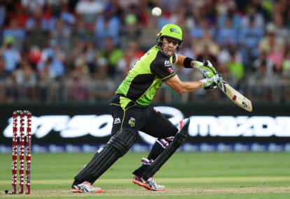 Sydney Thunder vs Sydney Sixers: Big Bash live scores, blog