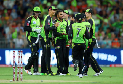 Sydney Thunder vs Perth Scorchers: Big Bash live scores, blog