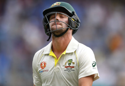 Australia are two middle order batsmen away from balance