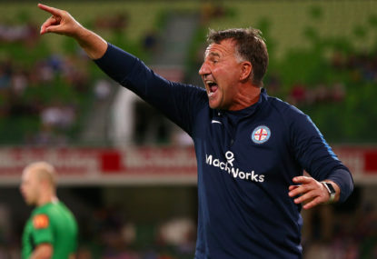 Warren Joyce shown the door by Melbourne City
