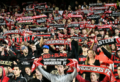 Why do fans compare the A-League to England's lower leagues?