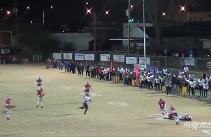 Crazy first down play sets up upset win