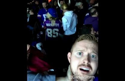 The best fan reactions to THAT Vikings missed field goal