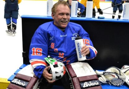 NRL legends skate up for charity at USA v Canada Classic