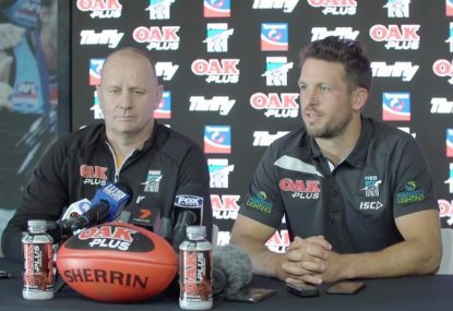 Travis Boak steps down as Port Adelaide skipper
