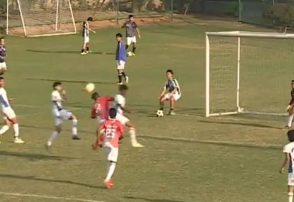 Keeper blows up after 'Hand of God' goal-assist