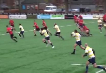 Offloads galore creates a try for the highlight reel