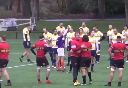 Polarising yellow card leaves both teams baffled