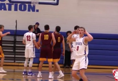 Amazing last-gasp rejection even leaves teammates shocked