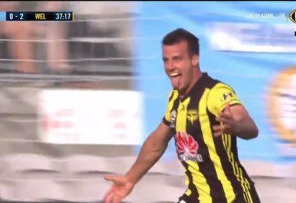 Wellington stun the Sky Blues with three first half goals