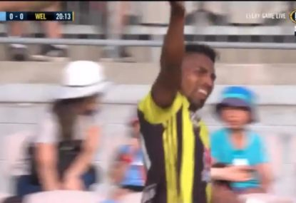 Phoenix shock Sydney FC with the opening goal