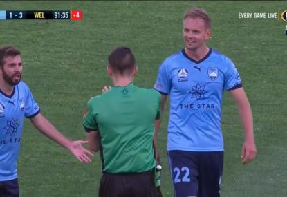 Ref calls full-time over two minutes too early