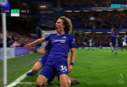 David Luiz seals stunning win for Chelsea