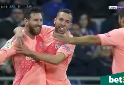 Messi's two stunning free kicks see Barcelona down rivals