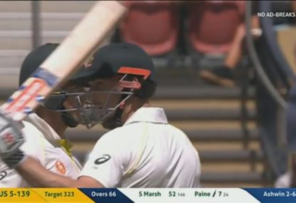 Shaun Marsh reaches a fifty but can't go on with it