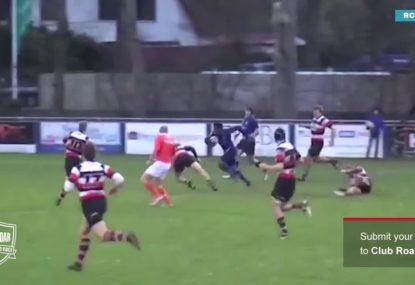 The Flying Dutchman! Absolute pace sets up phenomenal try