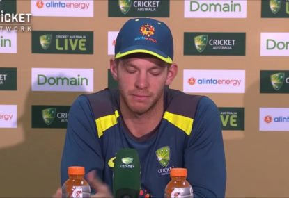 Tim Paine questions 'frustrating' DRS vagaries