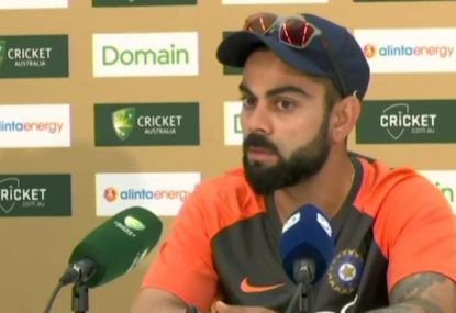 Kohli rejects concerns over the accuracy of DRS