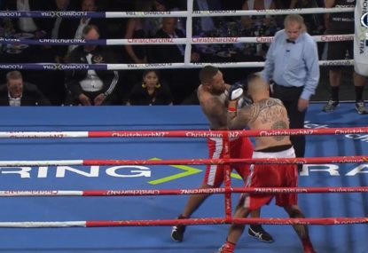 NZ Warriors champion destroys opponent with KO 28 seconds into pro boxing debut