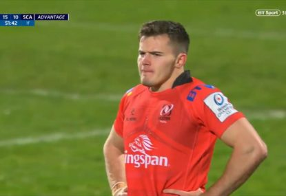Jacob Stockdale's brilliant finish after latching onto superb chip