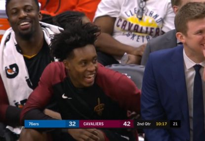 Cavs veteran produces the dumbest play of the season