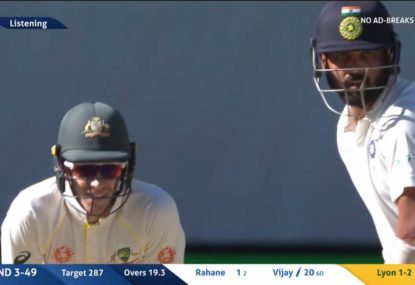 Tim Paine talks some serious smack about Virat Kohli