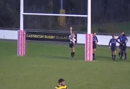 Pathetically weak penalty try is new-level ridiculous