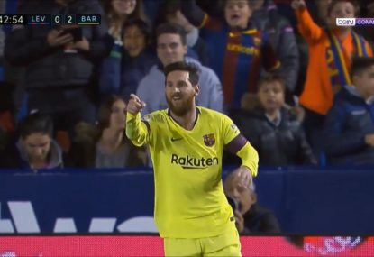 Lionel Messi outdoes himself with 17-minute hat trick
