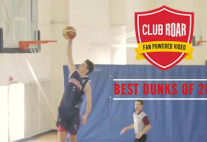 Club Roar's Best DUNKS of 2018