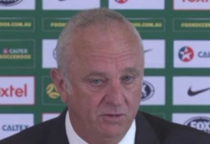 Socceroos coach explains decision to name injured Aaron Mooy