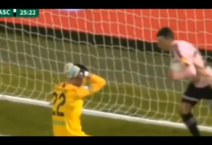 Goalkeeper scores unforgivable own goal