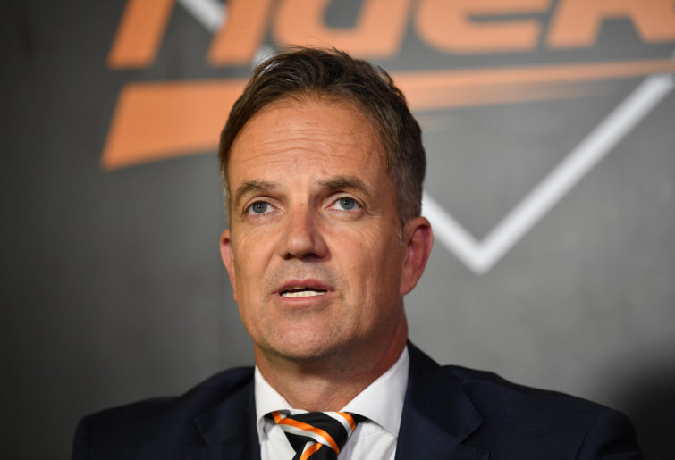 Wests Tigers' CEO Justin Pascoe
