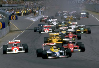 Looking back: The 1987 Australian Formula One Grand Prix