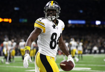 Is Antonio Brown on his way out?