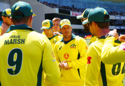 Aaron Finch is Australia's biggest World Cup worry