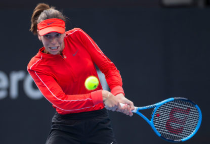 Ajla Tomljanovic vs Pauline Parmentier: Fed Cup Final match result