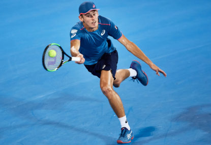 Less talent is no hurdle to Alex De Minaur becoming Australia's best male tennis player