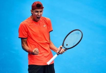 Lucas Pouille vs Alexei Popyrin: Australian Open live scores, blog