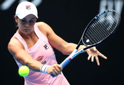 Ashleigh Barty makes final eight at Miami