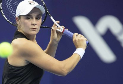 Barty slices past Sharapova in Cincinnati