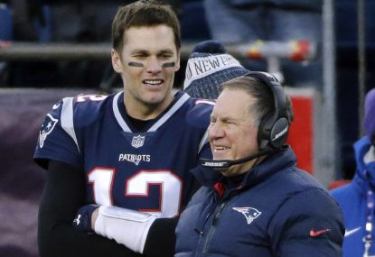 Are there any Australian footballers to rival quarterback Tom Brady's longevity in the NFL?