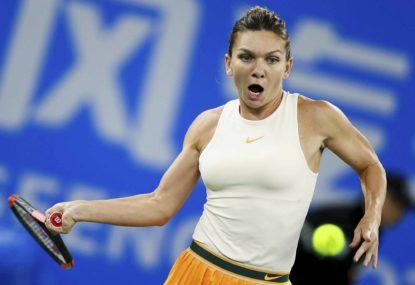 Simona Halep sets up Amanda Anisimova rematch at Roland Garros