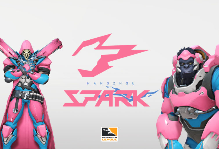 Reaper and Winston in Hangzhou Spark colours.
