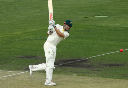 How Kurtis Patterson became a Test cricketer