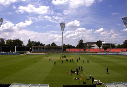 Manuka Oval's Test debut 95 years in the making